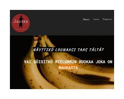 Jannen Lounas verkkosivusto